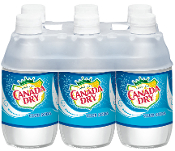Canada Dry Club Soda 6 Pack
