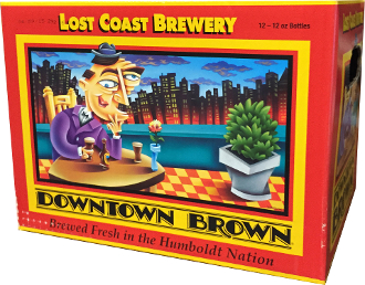 Lost Coast Downtown Brown 12 Pack Bottles
